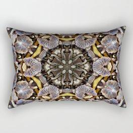 Mushroom Mandala Rectangular Pillow