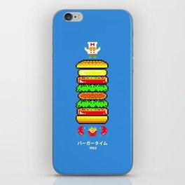 BurgerTime iPhone Skin