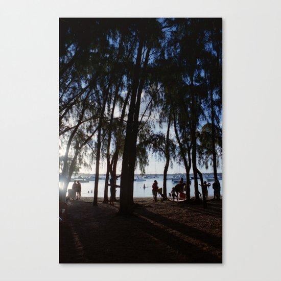 Last Ray of Sun Canvas Print