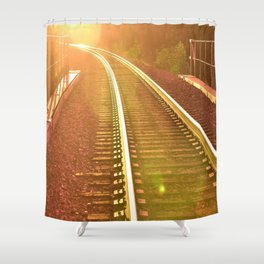 WHERE ARE WE GOING? Shower Curtain