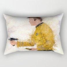 The Captain ( Splatter ) Rectangular Pillow