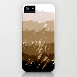 Shades of Sepia iPhone Case