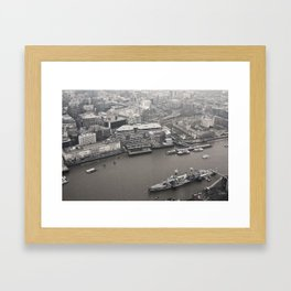 View from The Shard Framed Art Print