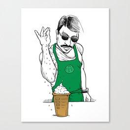 Coffee Bae Canvas Print