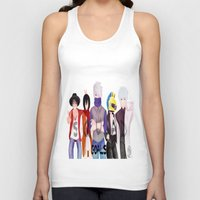 durarara Tank Tops featuring Squad Goals by Daosu