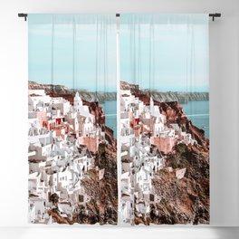 Santorini Greece, Fira Blackout Curtain