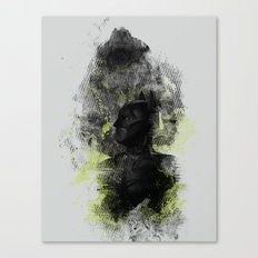 Polar Opposite Canvas Print