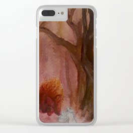 Amalthea and the Bull Clear iPhone Case