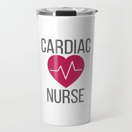 Cardiology Nurse Gift Cardiac Nurse Gift Travel Mug