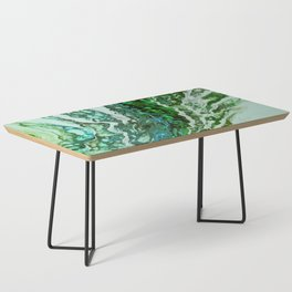Green blue rivers Coffee Table