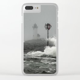 Annisquam Lighthouse Clear iPhone Case