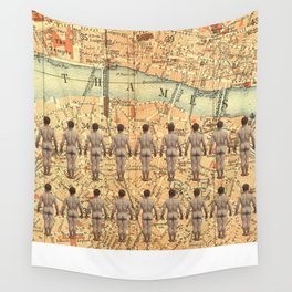 The South Bank Boys Wall Tapestry