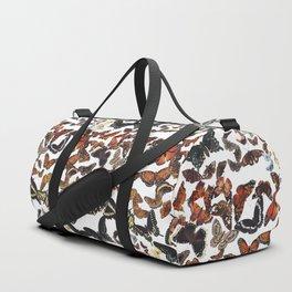 Butterflies of Maine Pattern Duffle Bag