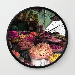 Phu Quoc Market Wall Clock