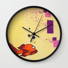 Lil' Orangy Wall Clock