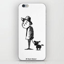 Dog Walker iPhone Skin