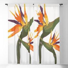 Paradise Flower Blackout Curtain