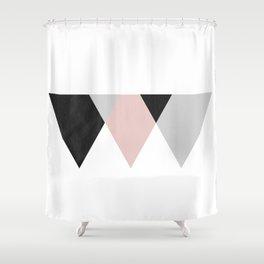 TTTRIANGLES Shower Curtain