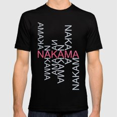 Nakama Mens Fitted Tee Black MEDIUM