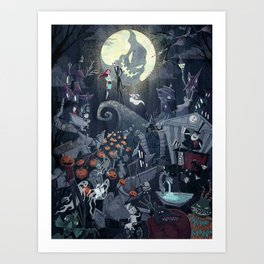 This is Halloween Art Print