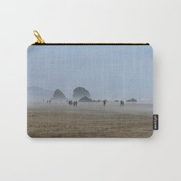 Misty Morning At Cannon Beach Carry-All Pouch