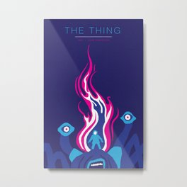 John Carpenter, Modern Master Series :: The Thing Metal Print