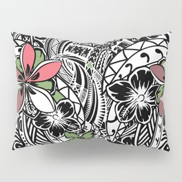 Polynesian Flora Touch Of Color Pillow Sham