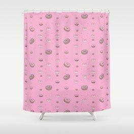 I love doughnuts! Shower Curtain