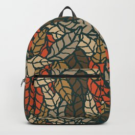 Nature leaves 004 Backpack