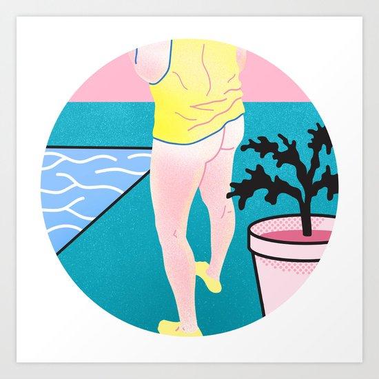 Butt series #3 Art Print