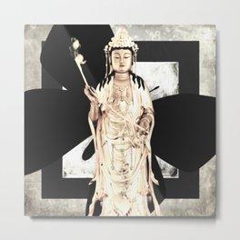 Buddha III Metal Print