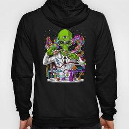 Alien Psychedelic Scientist Hoody