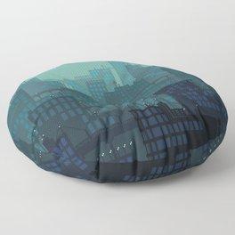 Midnight Blues Floor Pillow