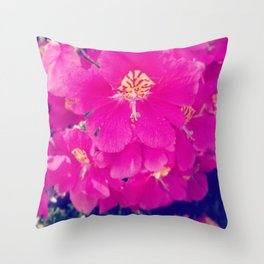 Fleur Bomb Throw Pillow