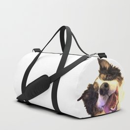 Happy Dog Duffle Bag