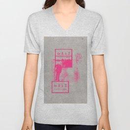 Pinknihilist  Unisex V-Neck