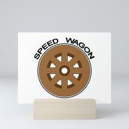 Speed Wagon Foundation Mini Art Print