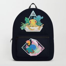 Ocean terrarium - Bobtail squids Backpack