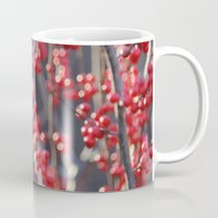 sparkles Mugs featuring Christmas Sparkles by BACK to THE ROOTS