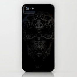 Skulls Black iPhone Case