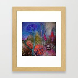 BEE  PARADISE Framed Art Print