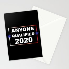 ANYONE QUALIFIED 2020 Stationery Cards