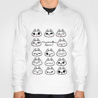 puppies Hoodies featuring Marshmallow Puppies! by Carina Soares