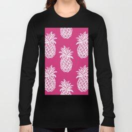 Pink  pineapples Long Sleeve T-shirt