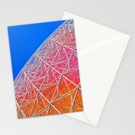 Rainbow Biosphere Mesh Stationery Cards