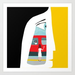 Ciao! Art Print