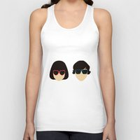 submarine Tank Tops featuring Submarine by Loverly Prints
