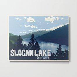 Slocan Lake Metal Print