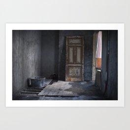 A Door to Nowhere Art Print