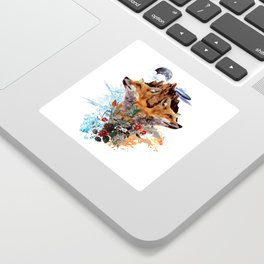 FOX II Sticker